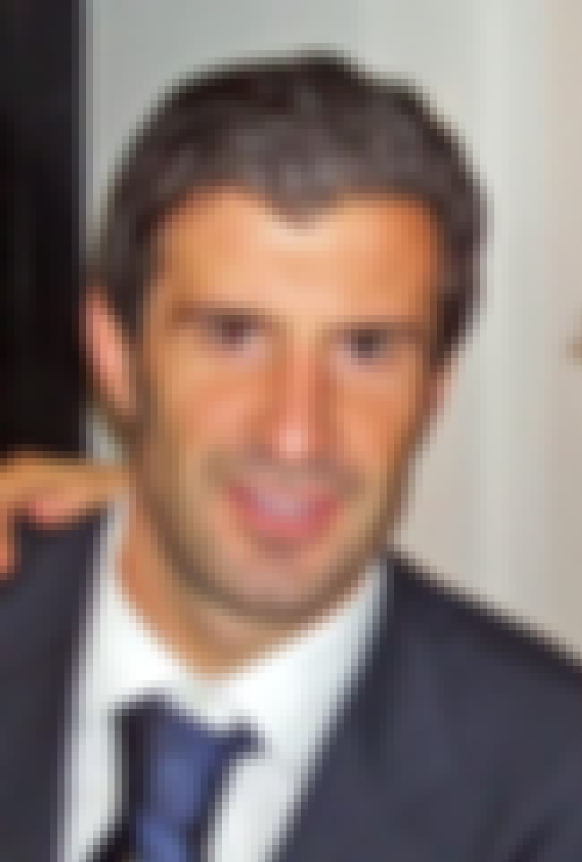 Luís Figo      is listed (or ranked) 7 on the list List of Famous Footballers