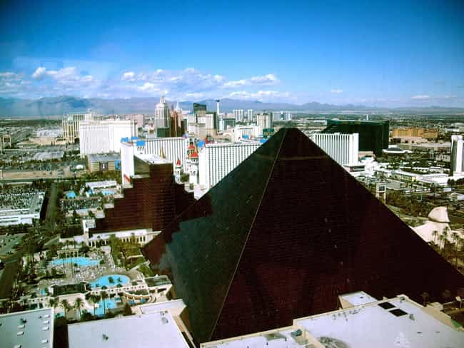 Luxor Las Vegas Is Listed Or Ranked 6 On The List Famous Egyptian Revival