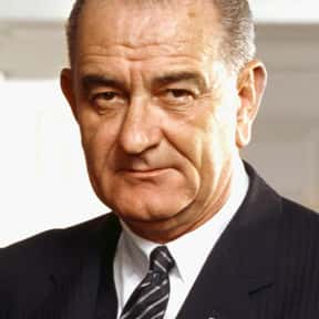 Lyndon Johnson is listed (or ranked) 24 on the list The Greatest U.S. Presidents Of All Time