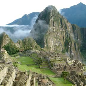 Machu Picchu is listed (or ranked) 5 on the list Historical Landmarks to See Before You Die