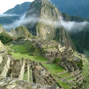 Machu Picchu is listed (or ranked) 17 on the list The Most Beautiful Natural Wonders In The World