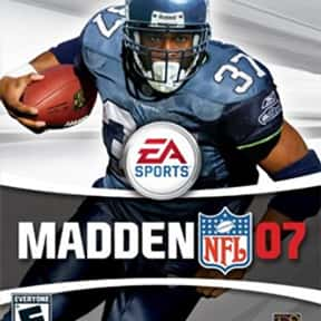 Madden NFL 07 is listed (or ranked) 25 on the list The Best American Football Games of All Time