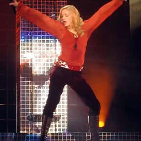 Madonna is listed (or ranked) 17 on the list The Greatest Dancing Singers