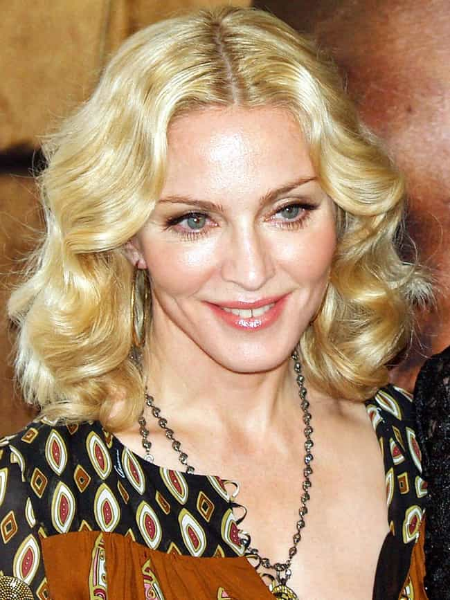 Madonna is listed (or ranked) 4 on the list Celebrities Banned From Places