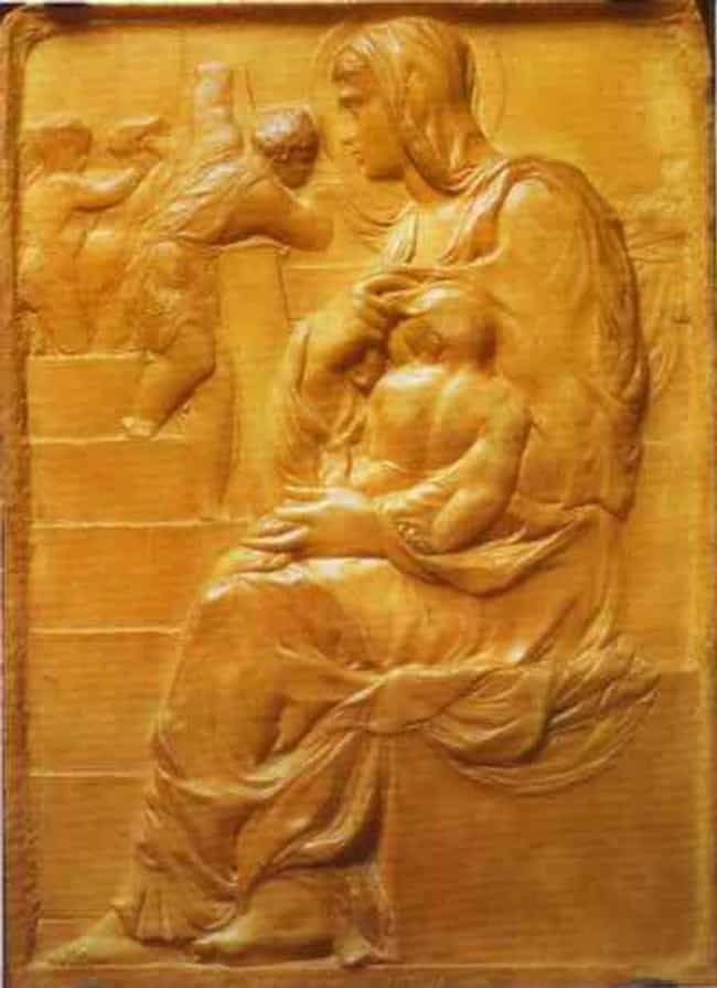 Madonna of the Stairs is listed (or ranked) 4 on the list Famous Michelangelo Statues