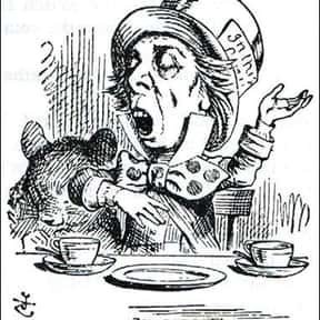 The Hatter is listed (or ranked) 5 on the list List of Alice In Wonderland Characters