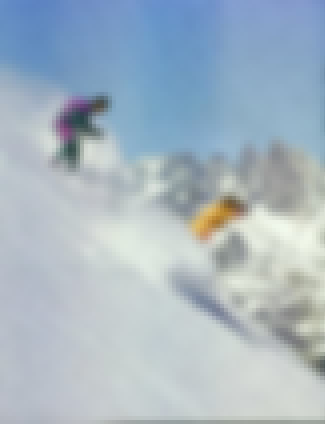 Mammoth Mountain Ski Area is listed (or ranked) 5 on the list The Best North American Ski Areas for Experts