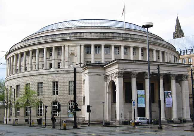 Manchester Central Library is listed (or ranked) 3 on the list Famous Corinthian order buildings