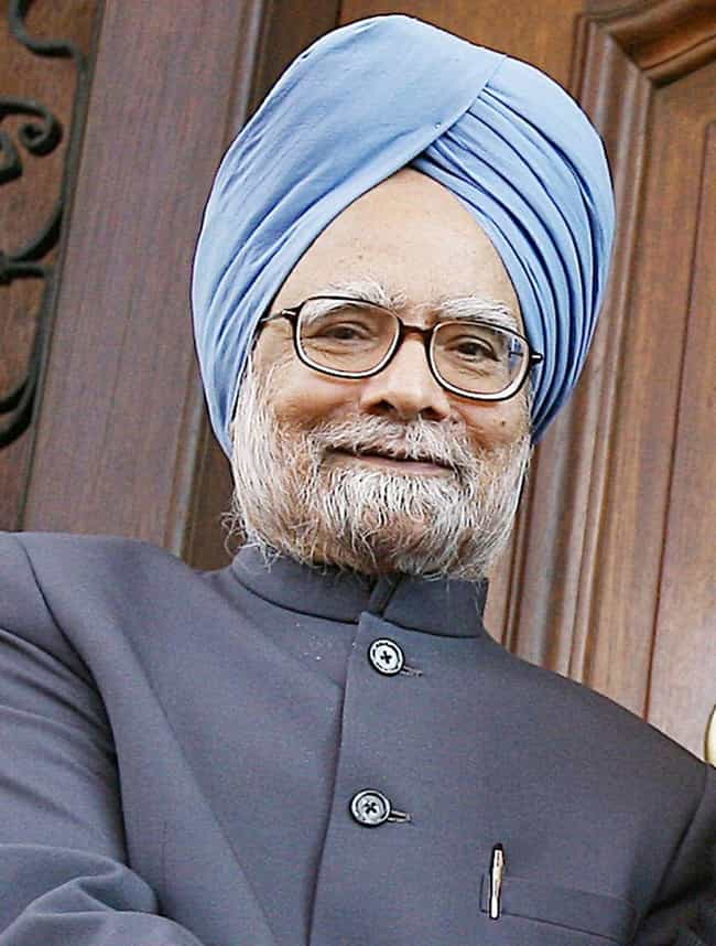 Manmohan Singh is listed (or ranked) 2 on the list Famous Male Social Workers