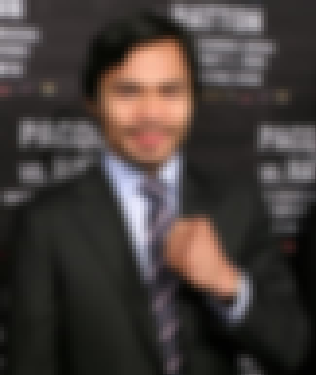 Manny Pacquiáo is listed (or ranked) 3 on the list Who Is the Worst Person of the Week? (Feb. 15-21)