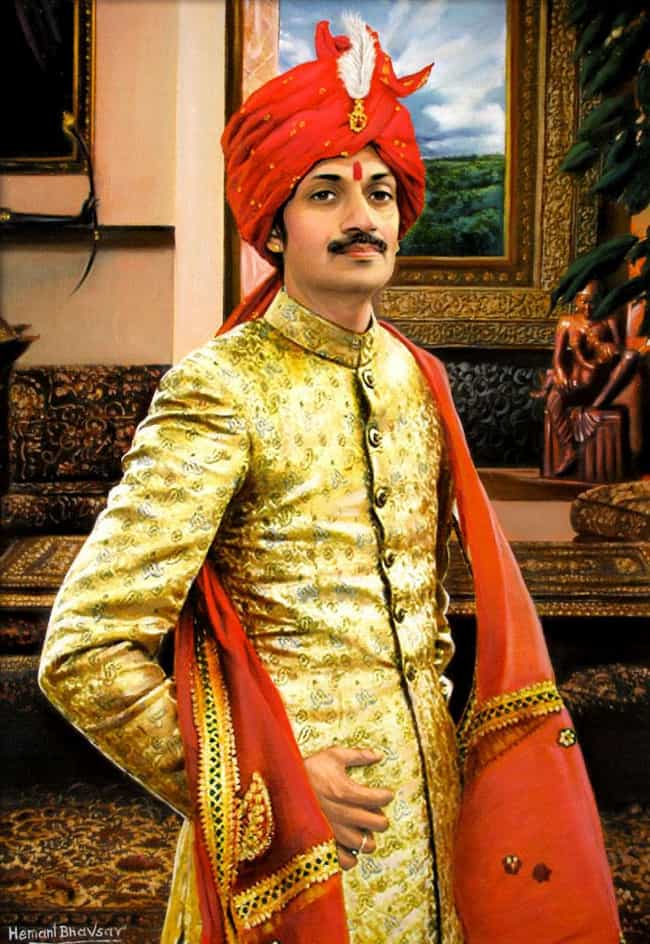 Manvendra Singh Gohil is listed (or ranked) 4 on the list List of Famous Princes