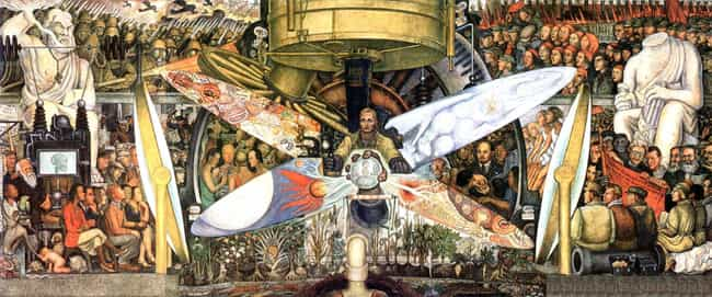 Man at the Crossroads is listed (or ranked) 2 on the list The Craziest Mexican Murals and the Revolutionary History Behind Them