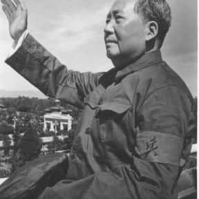 Mao Zedong is listed (or ranked) 9 on the list Famous Authors from China