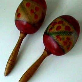 Maracas is listed (or ranked) 24 on the list Instruments in the Percussion Family