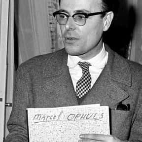 Marcel Ophüls is listed (or ranked) 24 on the list Famous People Named Marcel