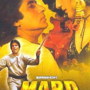 Mard is listed (or ranked) 9 on the list The Best Bollywood Movies of All Time