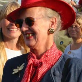 Margrethe II of Denmark is listed (or ranked) 25 on the list Famous People From Denmark