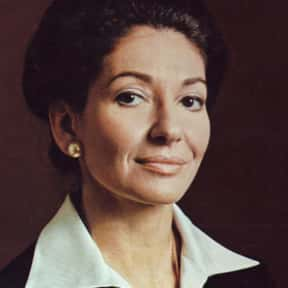 Maria Callas is listed (or ranked) 13 on the list The Greatest Opera Singers of All Time