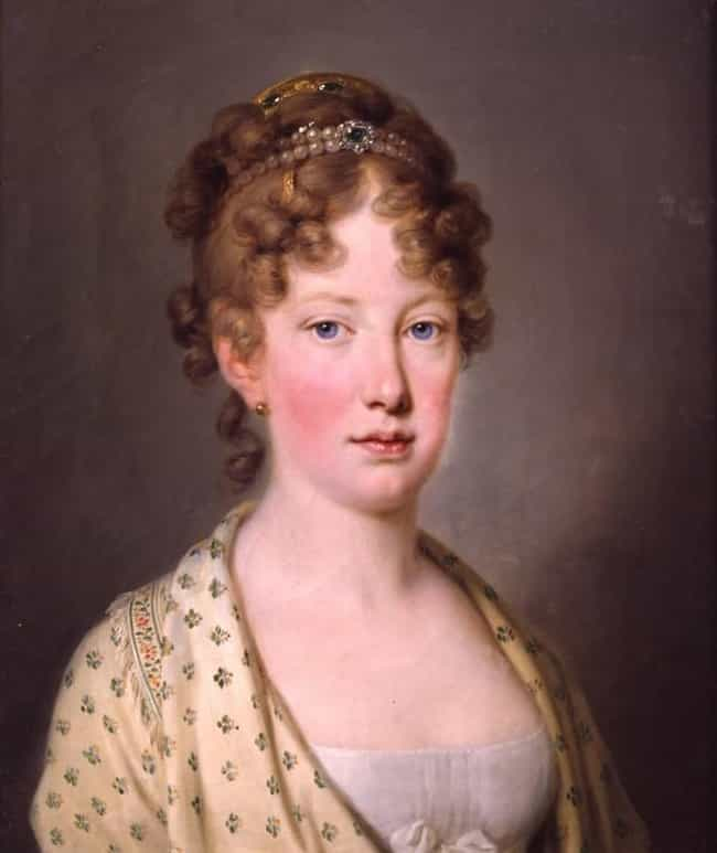 Maria Leopoldina of Austria is listed (or ranked) 3 on the list Members of the House Of Habsburg