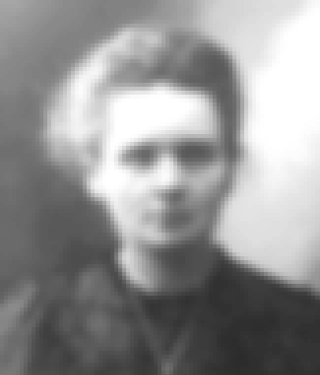 Marie Curie is listed (or ranked) 3 on the list Famous Female Scientists