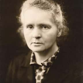 Marie Curie is listed (or ranked) 13 on the list The Greatest Minds of All Time