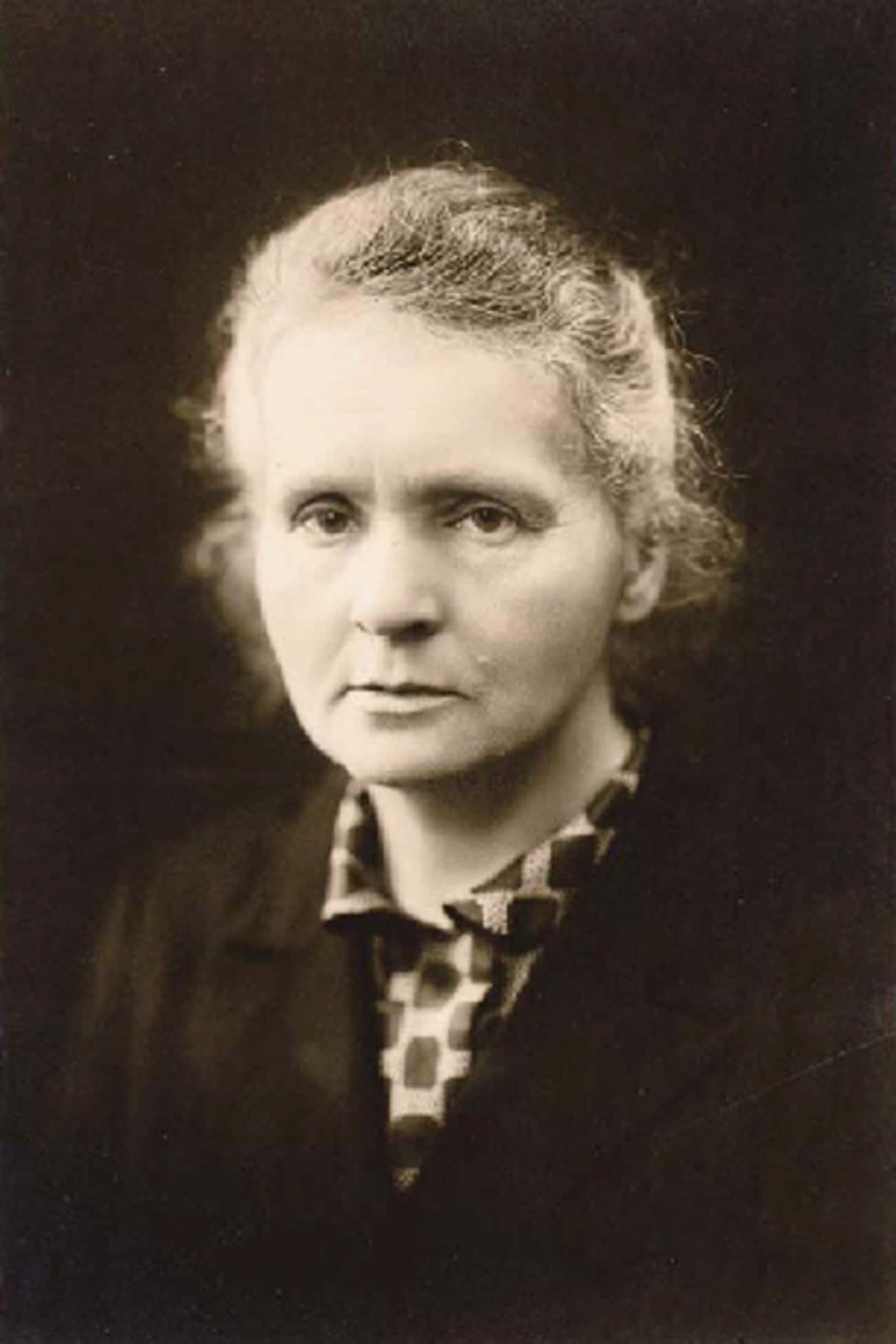 Marie Curie is listed (or ranked) 1 on the list The Coolest Female Firsts in History