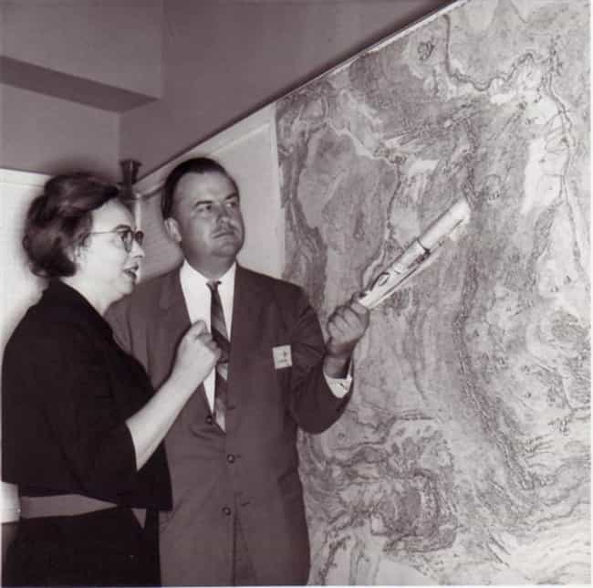 Marie Tharp is listed (or ranked) 3 on the list Famous Female Geologists