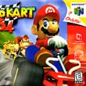 Mario Kart 64 is listed (or ranked) 7 on the list The Best Vehicular Combat Games of All Time