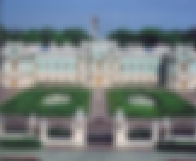 Mariyinsky Palace is listed (or ranked) 3 on the list List of Francesco Bartolomeo Rastrelli Architecture