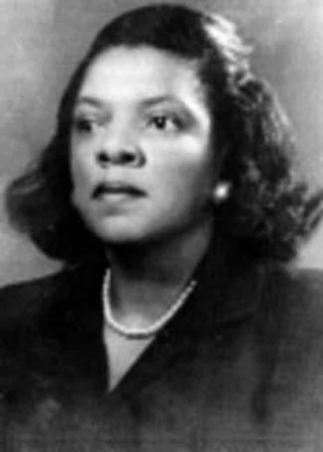 Marjorie Lee Browne is listed (or ranked) 4 on the list Famous Female Mathematicians