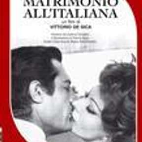 Marriage Italian Style is listed (or ranked) 17 on the list The Best '60s Romantic Comedies