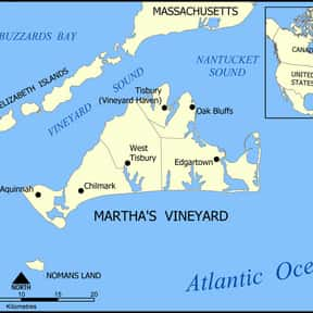 Martha's Vineyard is listed (or ranked) 24 on the list The Best U.S. Cities for Vacations