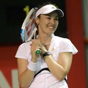 Martina Hingis is listed (or ranked) 23 on the list List of Famous Tennis Players