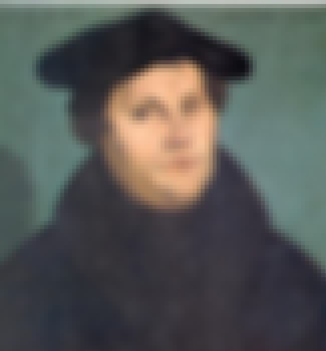 Martin Luther is listed (or ranked) 3 on the list 13 Widely Influential Historical Figures Who Loved Fart Jokes & Dick Jokes
