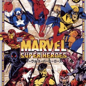 Marvel Super Heroes is listed (or ranked) 6 on the list The Best Sega Saturn Fighting Games