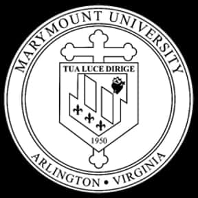 Marymount University is listed (or ranked) 1 on the list Saints Mascot School List