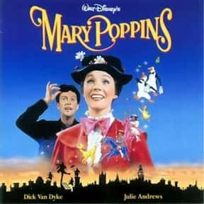 Mary Poppins is listed (or ranked) 3 on the list The Greatest Classic Films the Whole Family Will Love