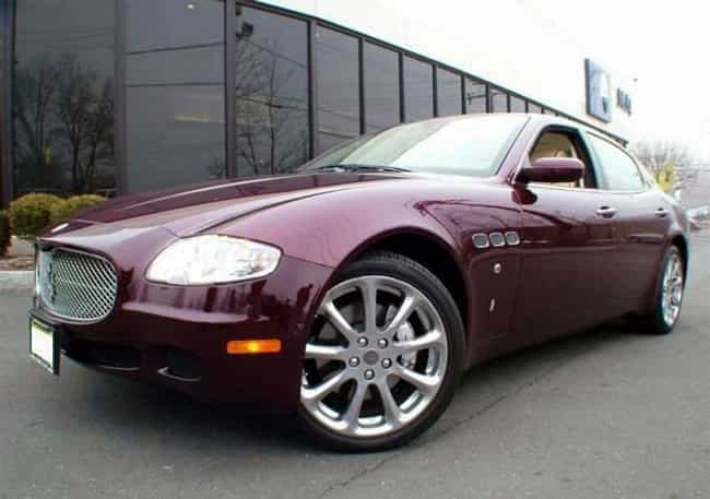 Maserati Quattroporte is listed (or ranked) 2 on the list Full List of Maserati Models