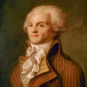 Maximilien de Robespierre is listed (or ranked) 12 on the list List Of Executed Politicians