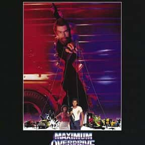 Maximum Overdrive is listed (or ranked) 24 on the list The Greatest Guilty Pleasure Sci-Fi Movies
