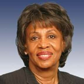 Maxine Waters is listed (or ranked) 24 on the list The Most Important Politicians Of 2019
