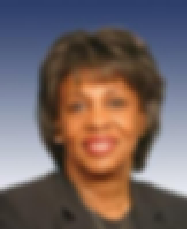Maxine Waters is listed (or ranked) 3 on the list Famous Female Teachers