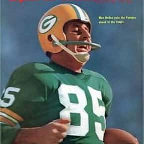 Max McGee is listed (or ranked) 24 on the list The Best Green Bay Packers Of All Time