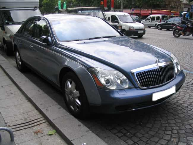 Maybach 57 is listed (or ranked) 1 on the list Full List of Maybach Models
