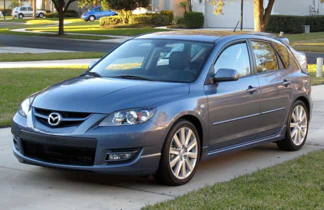 Mazdasd3 Is Listed Or Ranked 4 On The List Full Of Mazda Models