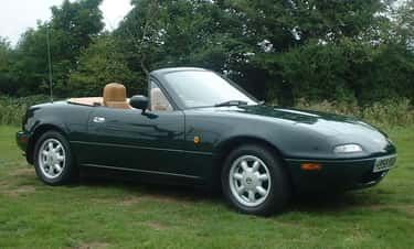 Mazda MX-5 is listed (or ranked) 1 on the list The Best Car Values