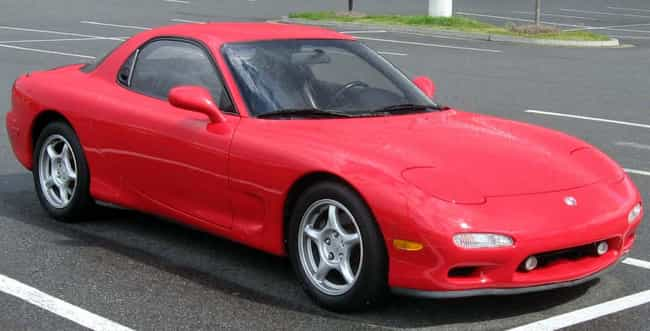 Mazda RX-7 is listed (or ranked) 7 on the list Full List of Mazda Models