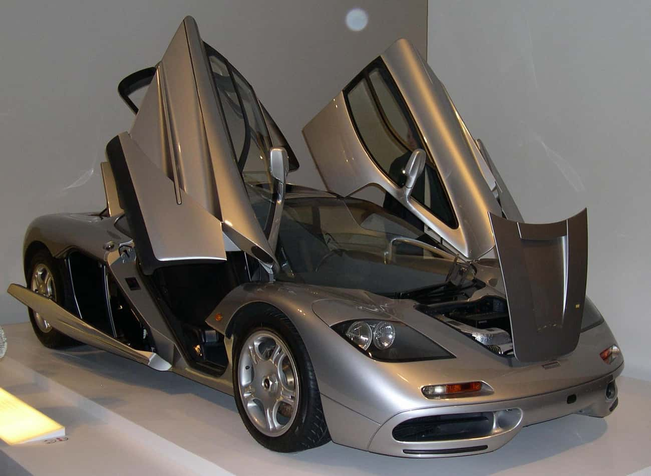 McLaren F1 is listed (or ranked) 3 on the list The Ultimate Dream Garage
