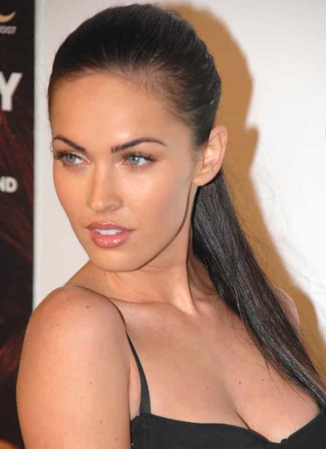 Megan Fox is listed (or ranked) 1 on the list Celebrity Deformities You Never Noticed