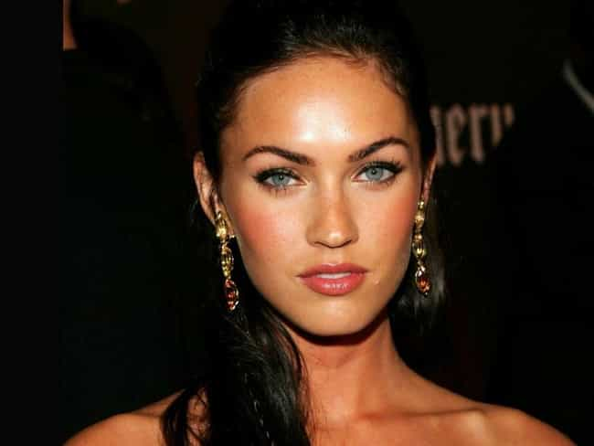 Megan Fox is listed (or ranked) 3 on the list The Most Beautiful Women with Blue Eyes